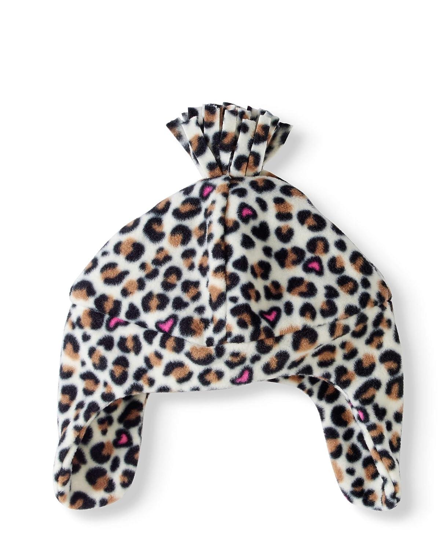 Beautiful Girls Hat Girls Fleece Hats Cheetah