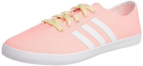 7d1db1ac448 adidas Neo QT Vulc VS Mujeres Tenis corrientes-Pink-6  Amazon.com.mx ...