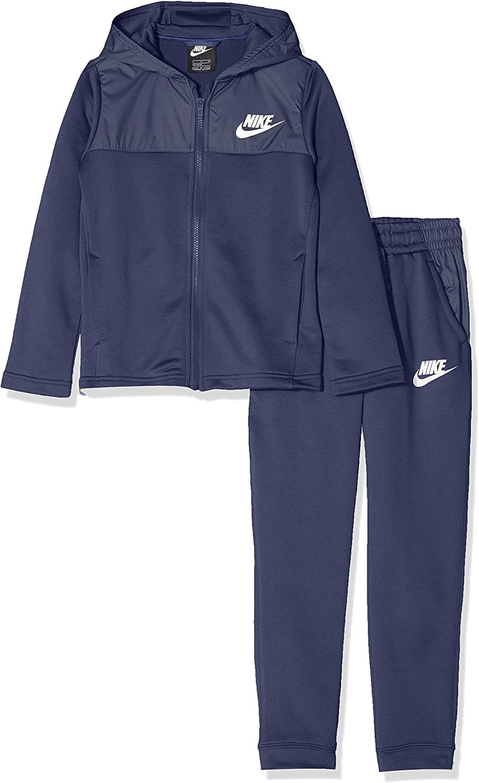 Nike B NSW AV Track Suit Chándal, Niños, Midnight Navy/White, S ...