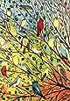 "Toland Home Garden 109537 Tree Birds 28 x 40 Inch Decorative, House Flag (28"" x 40"")"