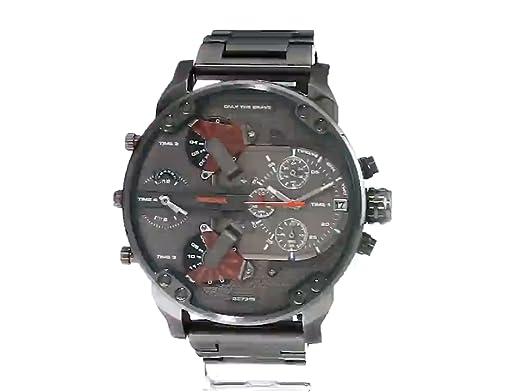 4d10ed3e3e21 Amazon.com  Diesel Men s Mr Daddy 2.0 Quartz Stainless Steel Chronograph  Watch