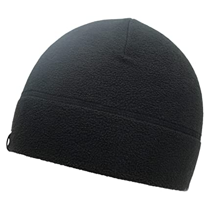 99c71584 Amazon.com: Temple Tape Tactical Fleece Watch Cap Beanie Black: Clothing