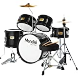 Mendini By Cecilio Kids Drum Set - Starter Drums Kit with Bass, Toms, Snare, Cymbal, Hi-Hat, Drumsticks & Seat - Musical Inst