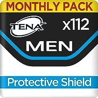 TENA Men Escudo Protector, Compresas - 112 Unidades