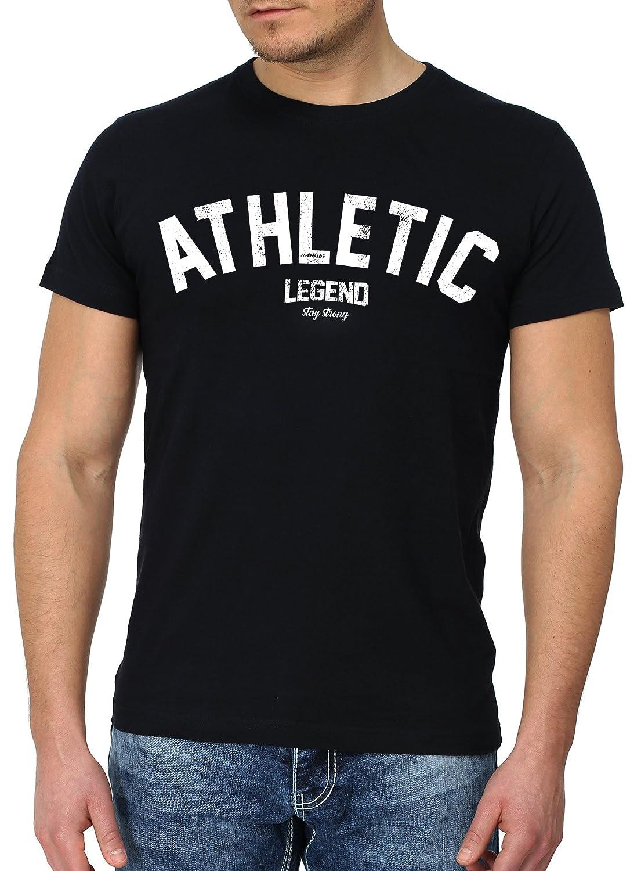Goodflow Slim Fit T-Shirt Männer Verschiedene Designs Schwarz Hipster Motive:  Amazon.de: Bekleidung