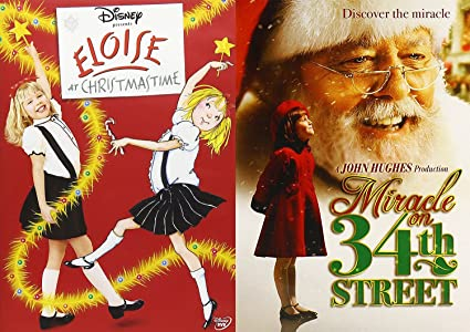 Eloise At Christmastime.Amazon Com Miracle On 34th Street Disney Eloise At