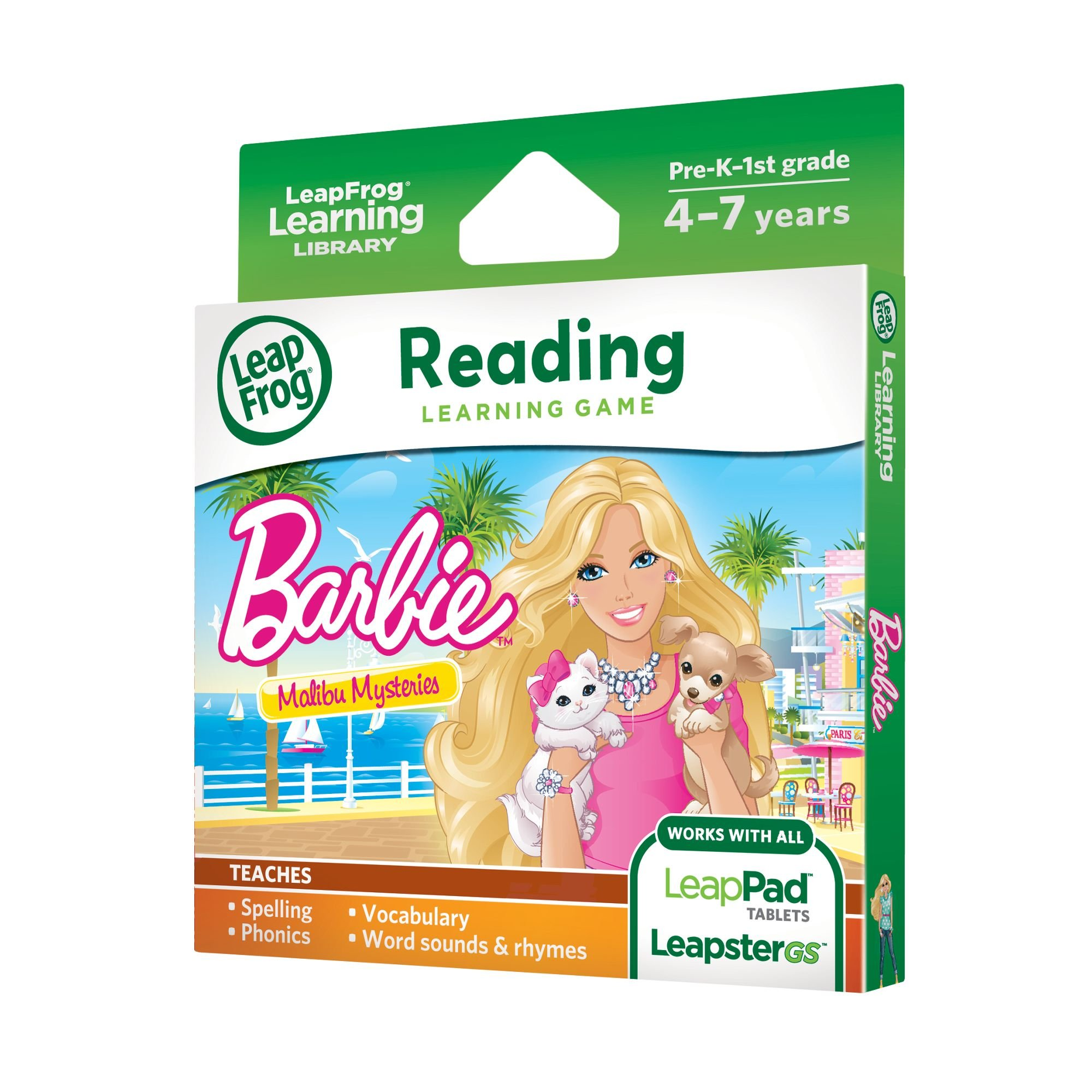 LeapFrog Learning Game: Barbie Malibu Mysteries (for LeapPad Tablets and LeapsterGS) by LeapFrog (Image #2)