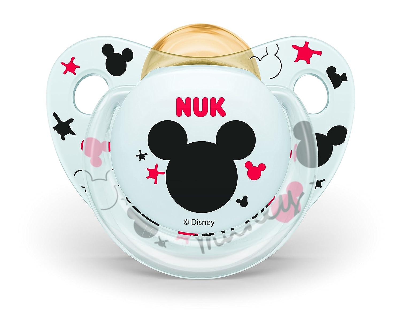 Nuk 10725012 Disney Topolino 0-6 Mesi Succhietto Trendline in Lattice