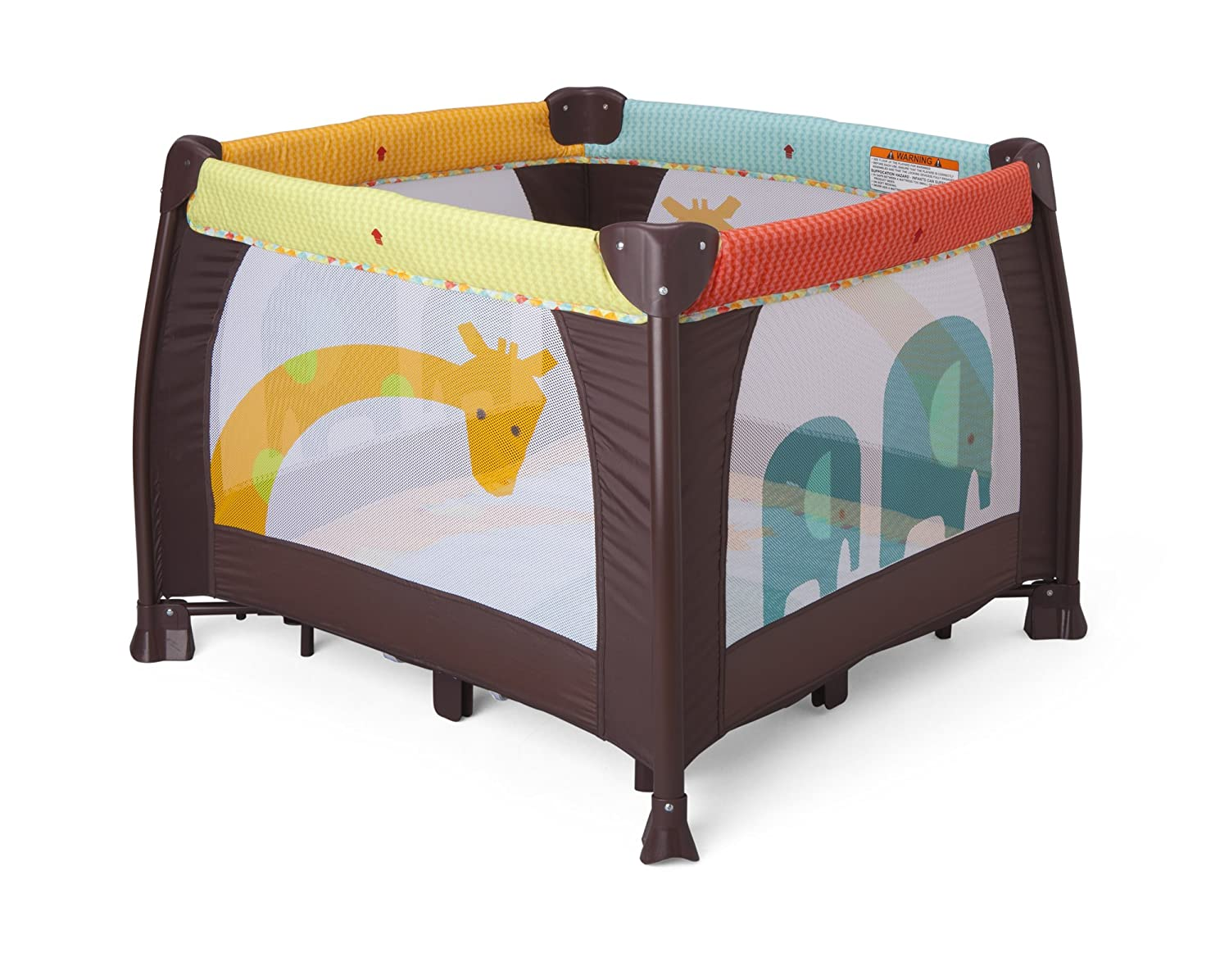 Delta Children 36 x 36 Playard, Novel Ideas Delta Children's Products 26003-241