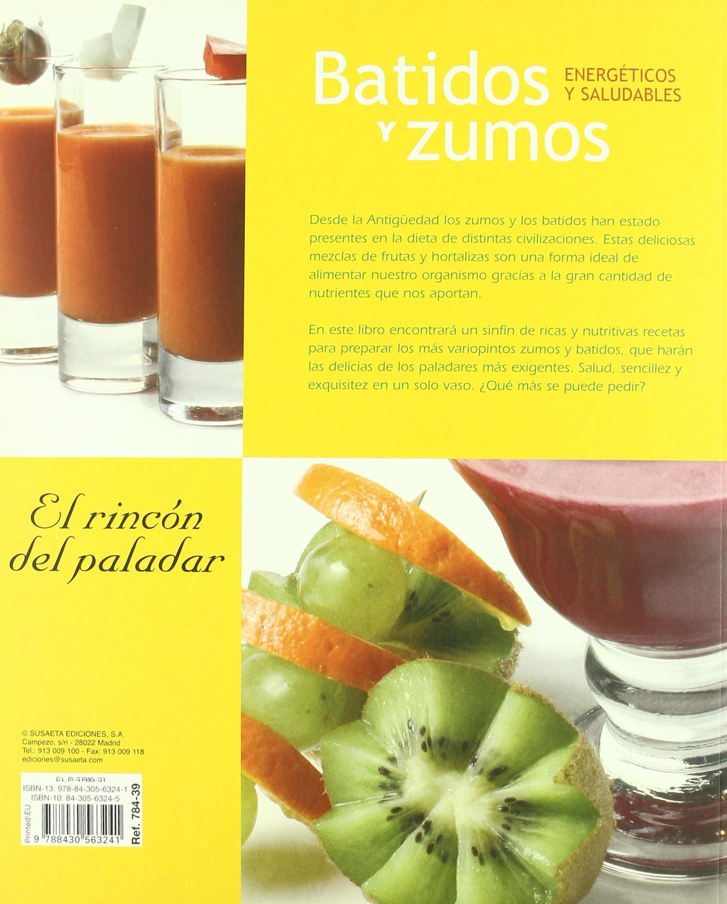 Batidos y zumos energeticos y saludables
