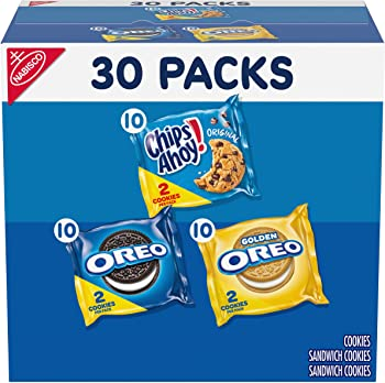 30-Count Nabisco Sweet Treats Variety Pack Cookies, 23.4 Ounce