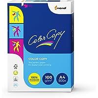 Mondi Color Copy Carta da Stampa, Formato A4, 100gr/mq, 1 Risma da 500 Fogli