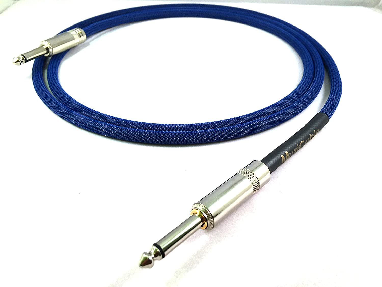 ブルースリーブW Mogami Instrumentケーブル| Straight toサイレントTip | 15フィート   B0144BBB26, 不妊健康支援センターMakana a2f0e6c6