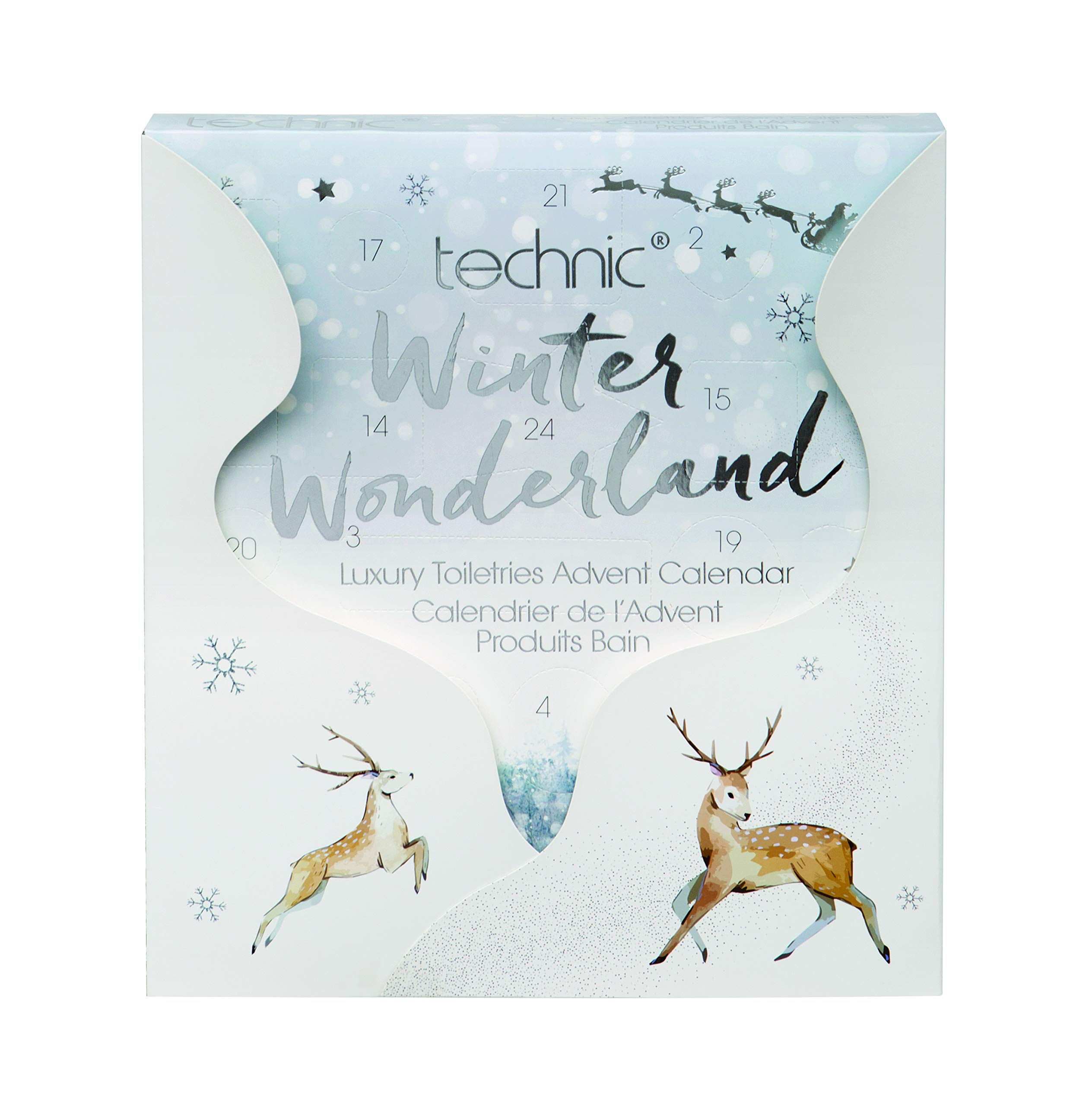 Technic Advent Winter Wonderland Toiletry Calendar 998213