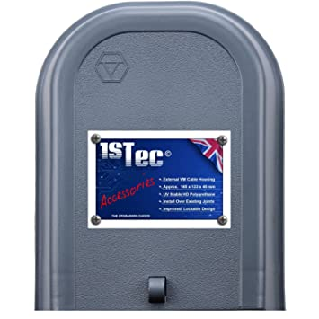 1stec virgin media junction box for housing telephone tv superhub modem  leads electrical connections on external