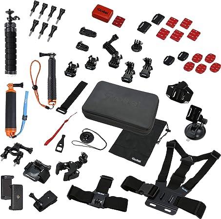 Rollei Actioncam Zubehör Set Sport Xl 49 Teiliges Kamera