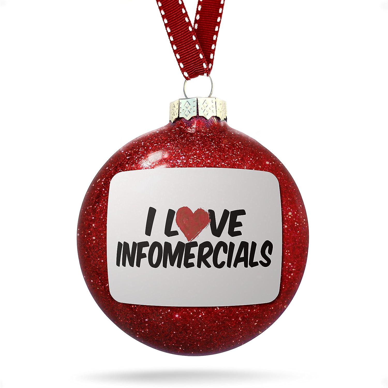 Amazon.com: Christmas Decoration I Love Infomercials Ornament: Home ...