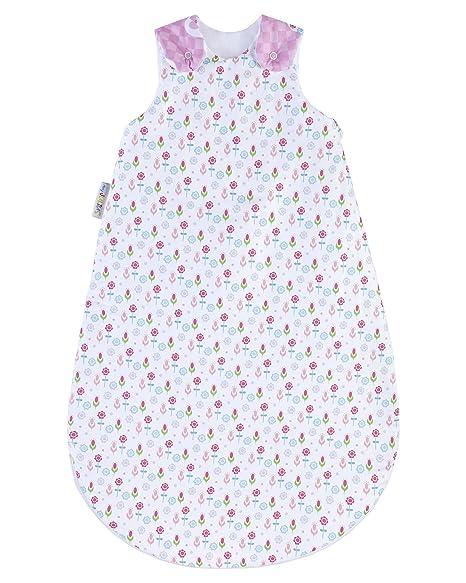 myjulius Manta Saco de dormir Lilly Mixed en diferentes tamaños blanco Talla:70 cm