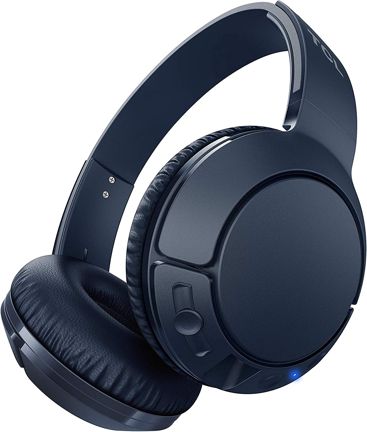 TCL MTRO200BT Wireless On-Ear Headphones Super Light Weight Headphones with 32mm Drivers for Huge Bass and 20 Hour Playtime – Slate Blue