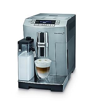DeLonghi ECAM 26.455.MB Prima Donna S - Máquina de café espresso, frontal de