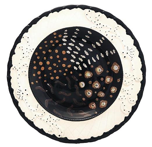 Grande piatto da portata, piatti con decorazione: Amazon.it ...
