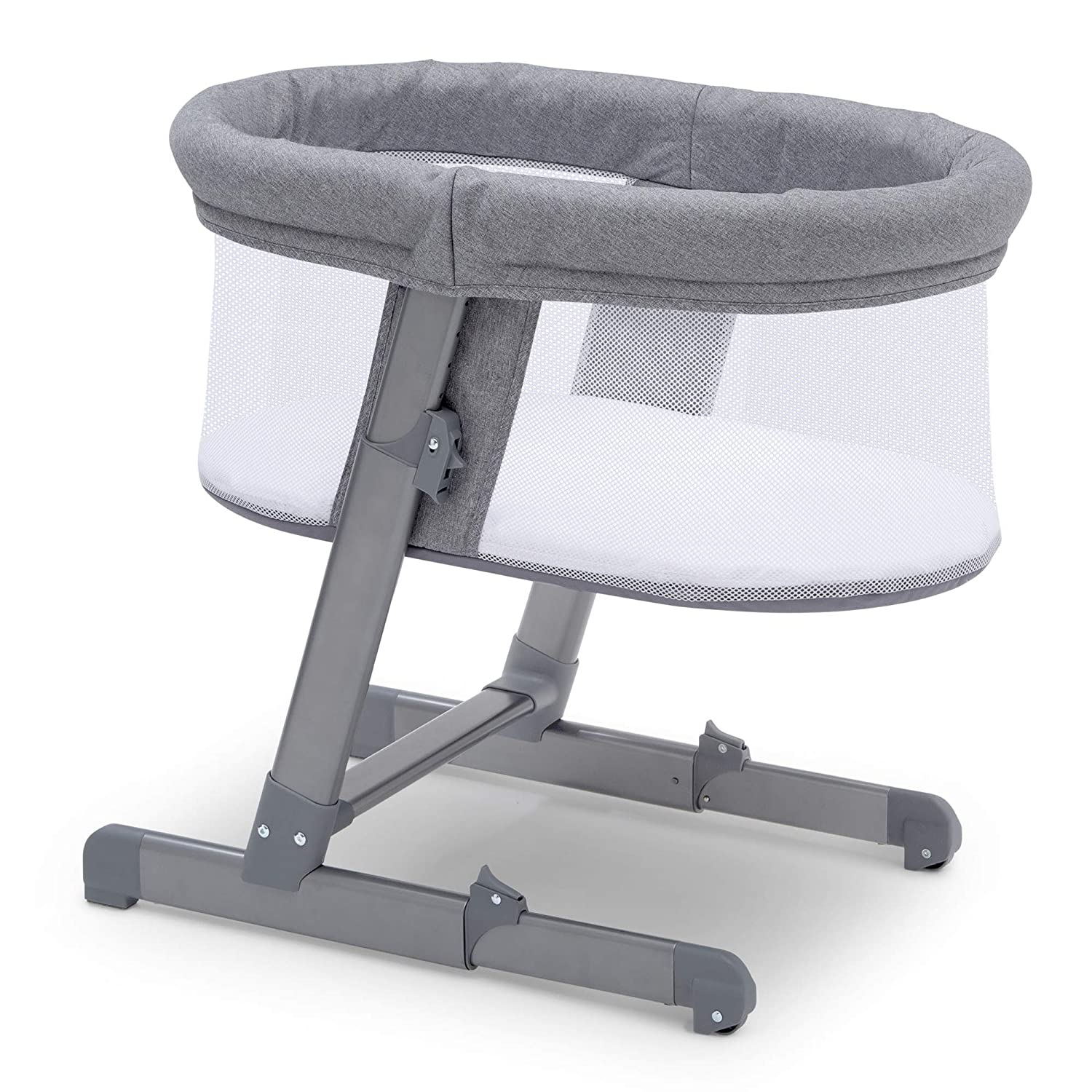 Simmons Kids Oval City Sleeper Bassinet, Grey Tweed Delta Enterprise Corp - PLA 25504-2012