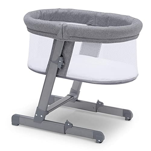 Simmons Kids Oval City Sleeper Bedside Bassinet