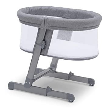 1df32bf7bdc5 Amazon.com   Simmons Kids Oval City Sleeper Bassinet