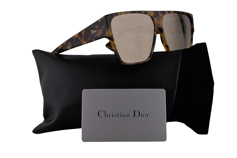951ed8178bd1c Amazon.com  Christian Dior DiorHit Sunglasses Yellow Red Havana w Ivory  Mirror Lens 62mm EPZQV DiorHit S Dior Hit  Clothing