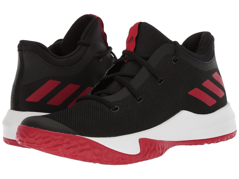 (アディダス) adidas メンズ野球ベースボールシューズ靴 Rise Up 2 Black/White/Red 6.5 (24.5cm) D Medium B07BQKWBWY