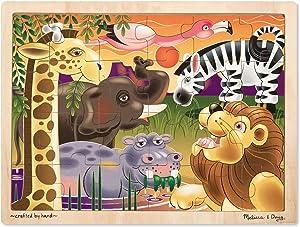 Melissa & Doug African Plains Jigsaw Puzzle 24 pc