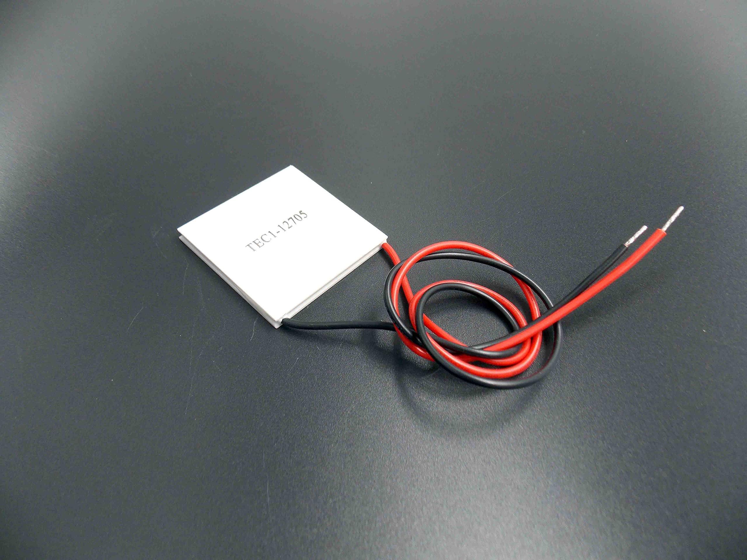 TEC1-12705 Heatsink Thermoelectric Cooler Cooling Peltier Plate Peltier 12705 12V 5A Cells TEC12705 Peltier Elemente Module
