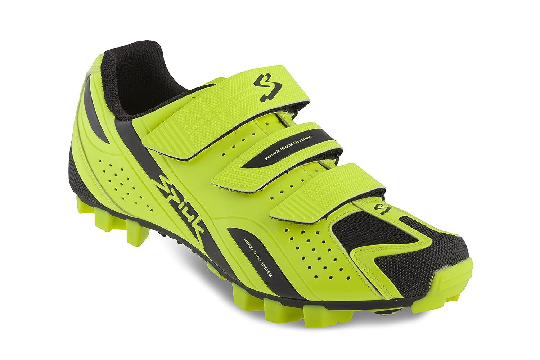 Spiuk Rocca MTB - Zapatillas Unisex, Color Amarillo/Negro, Talla 47 47|Amarillo / Negro