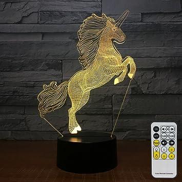 Amazon Com Flyonsea Unicorn Gifts Night Lights For Kids 7 Colors