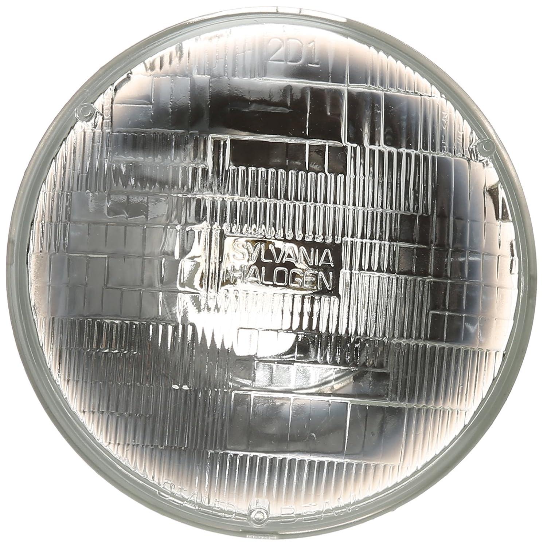 amazon com sylvania h6024 basic halogen sealed beam headlight 7 amazon com sylvania h6024 basic halogen sealed beam headlight 7 round par56 contains 1 bulb automotive