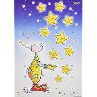 Oups Adventkalender 2018: Ich wünsche dir ... Glück, Liebe, Gesundheit, Spaß, Harmonie, Zeit, Fröhlichkeit, Erfolg, Ruhe, Kraft