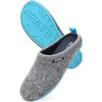 ELEWERT® - Natural - Zapatillas de Estar por casa, Hechas en España, Confort, Unisex, Interior, Exterior, Suela de…
