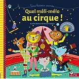 Quel méli-mélo au cirque ! - livre avec pièces de puzzle