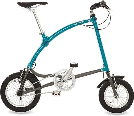 Ossby Arrow Bicicleta Plegable 3 velocidades (Turquesa): Amazon.es ...