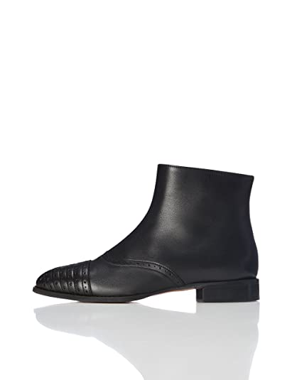 find. Women s Brogue Style Leather Ankle Boots  Amazon.co.uk  Shoes ... ab146882ac