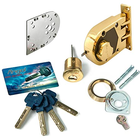 amazon com angal high security jimmyproof lock health personal care
