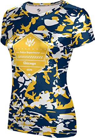 ProSphere Women s University of Illinois Chicago Police Department Camo  Shirt (Apparel) FC202 e17faef68d