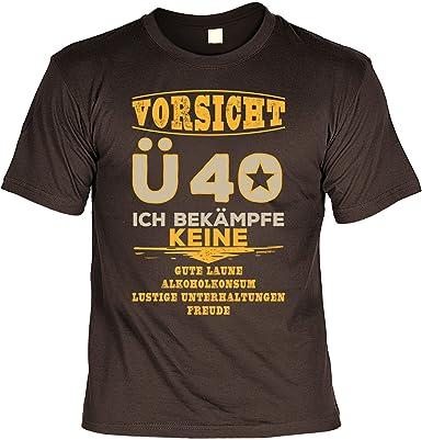 T Shirt 40 Geburtstag Geburtstagsshirt Spruche 40 Jahre Vorsicht