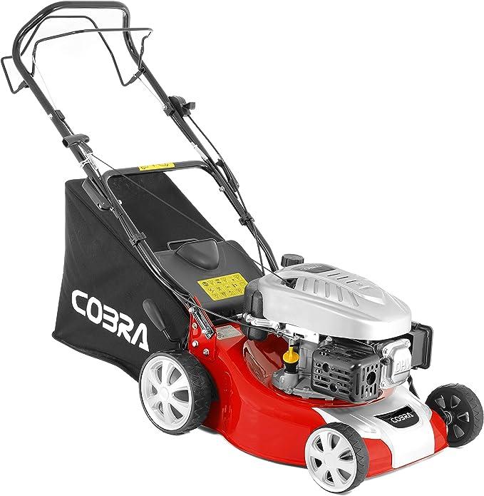 Cobra RM40SPC Self Propelled Petrol Roller Mower - Best Petrol Lawn Mower With Roller