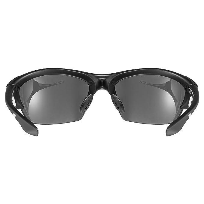 Uvex Blaze III Gafas de Ciclismo, Unisex Adulto, Negro/Azul, Talla Única: Amazon.es: Deportes y aire libre