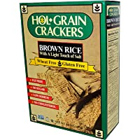 Hol-Grain Brown Rice Crackers, Lightly Salted, 127 Grams
