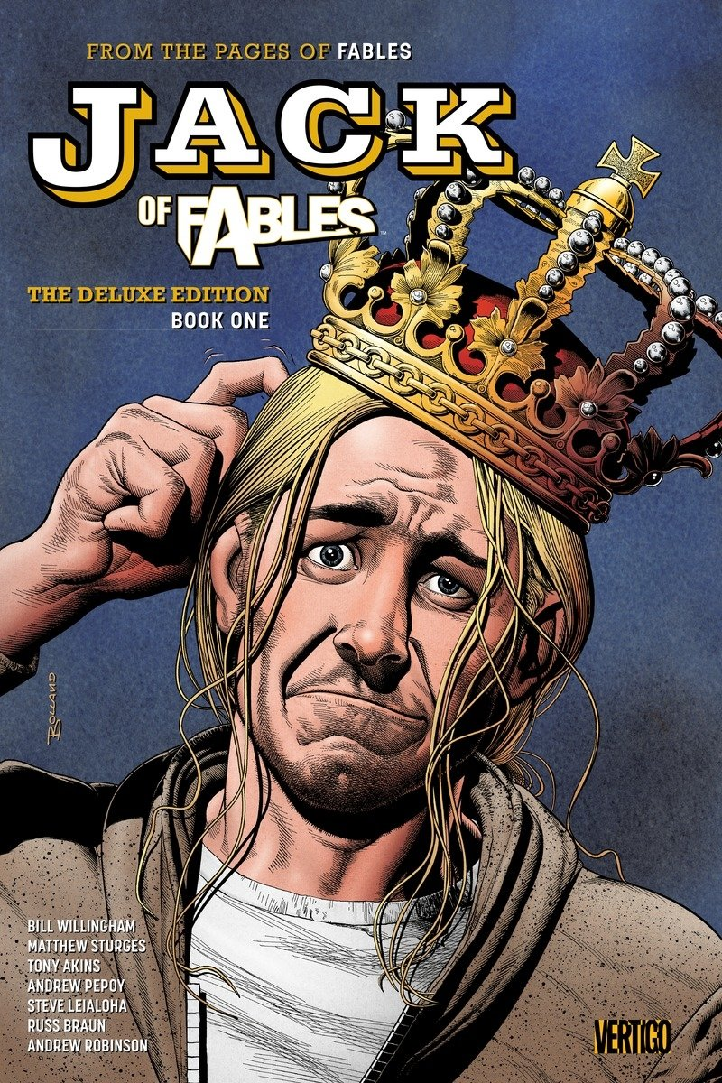Jack Fables Deluxe Book One