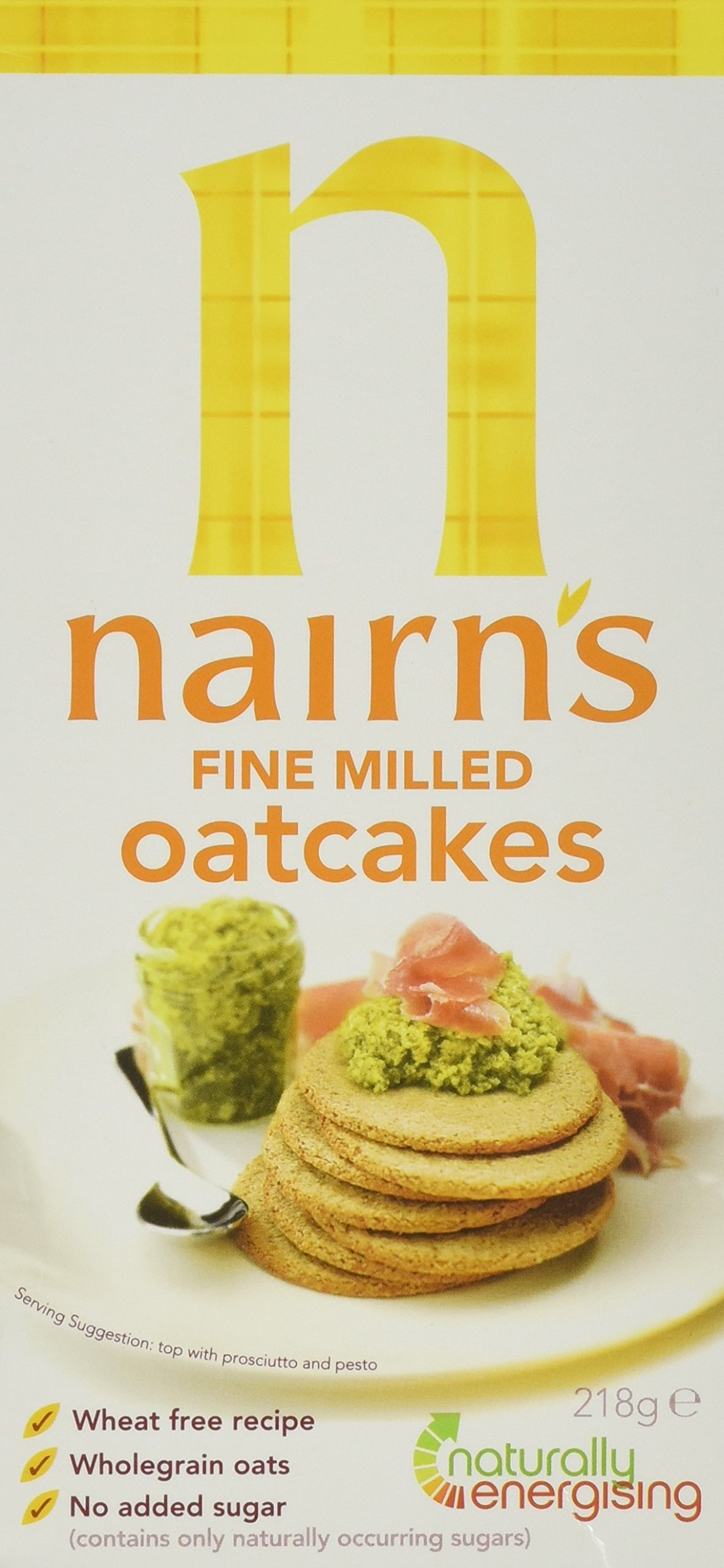 Nairn's Fine Oatcakes 218g - Pack of 2