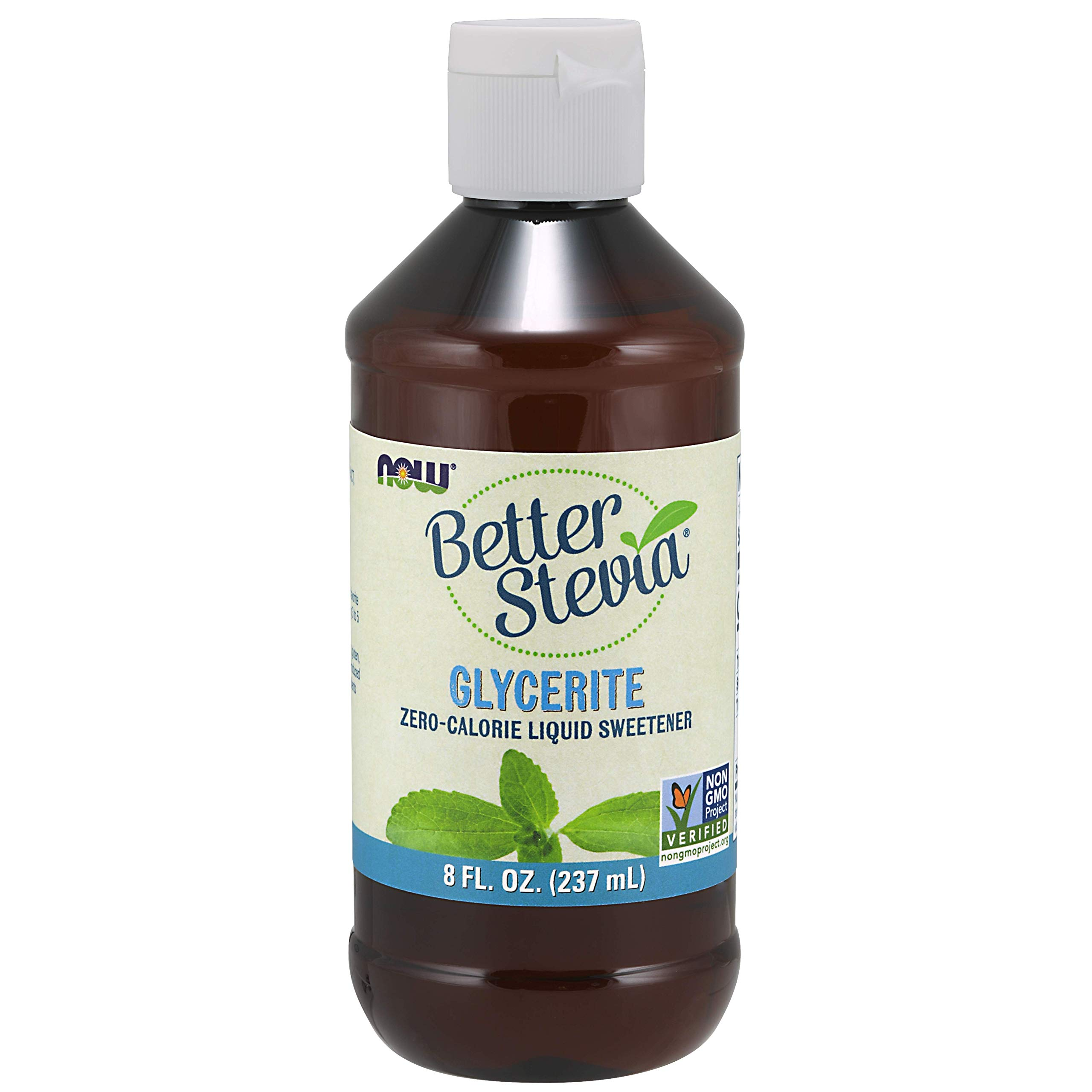 Now Foods Stevia Glycerite, 8 Fl Ounces (Packaging May Vary)