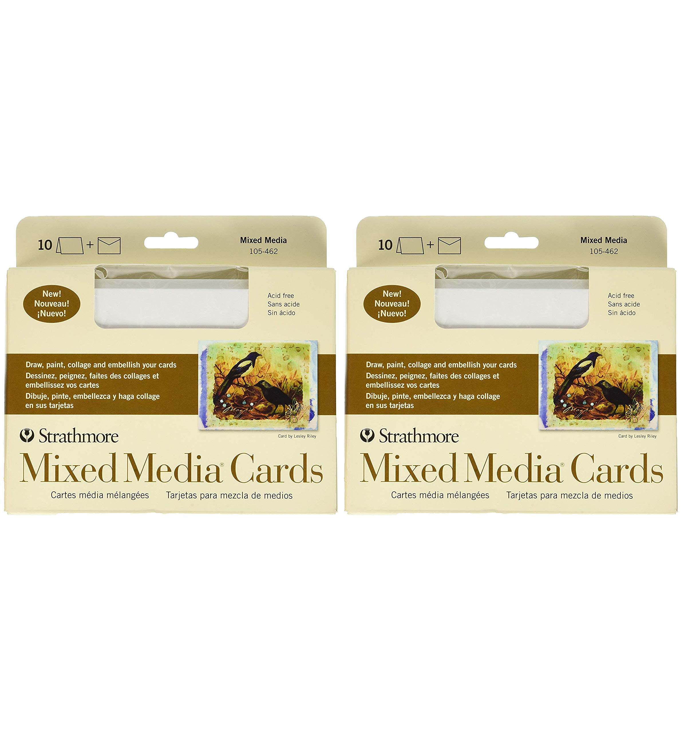Strathmore 105-462-1 Mixed Media Cards- (Тwo Рack)
